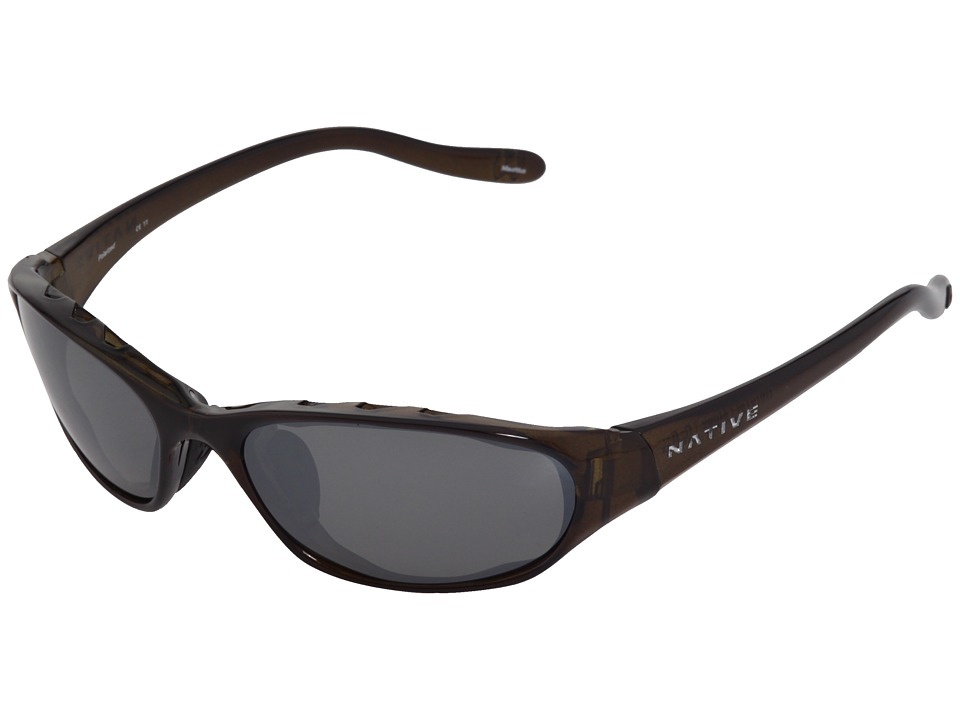Native Eyewear - Throttle (Moss/Silver Reflex Lens) Sport Sunglasses