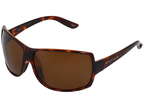 Native Eyewear - Chonga (Maple Tort/Brown Polarized Lens) Sport Sunglasses
