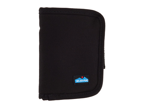 KAVU - Zippy Wallet (Black) Bags