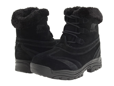 SOREL - Waterfall Lace 2 (Black) Women's Cold Weather Boots