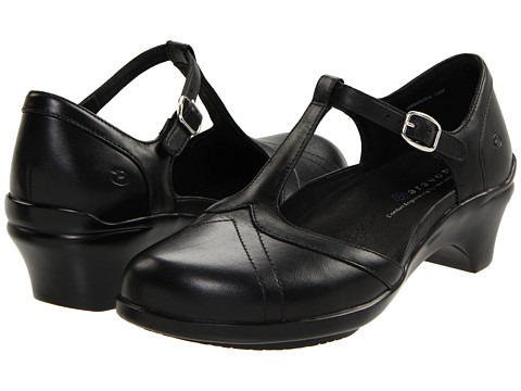 Aravon - Maura (Black Leather) Women's Maryjane Shoes