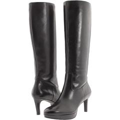 Rockport Juliet Boot (Black Smooth Calf) Footwear