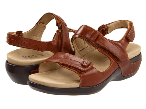 Aravon - Katy (Tan Leather) Women's Sandals