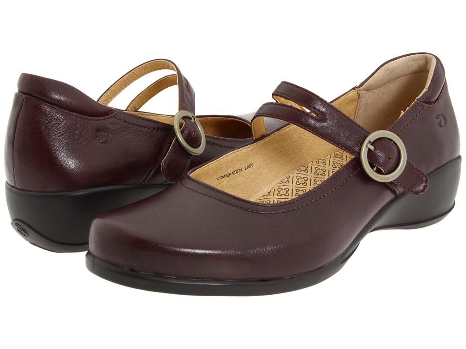 Aravon - Tonya (Red-Brown Leather) Women's Maryjane Shoes