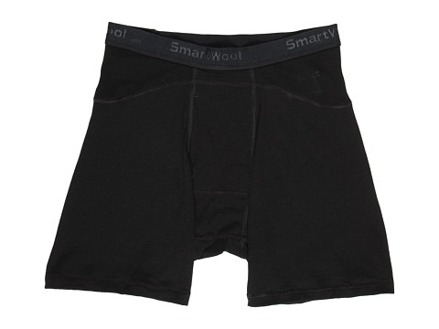 Smartwool - Lightweight Boxer Brief (Black) Men's Underwear