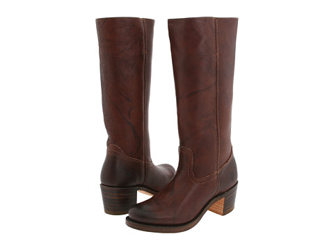 Frye - Sabrina 14L (Walnut) Women's Pull-on Boots