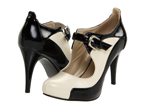 Lumiani International Collection - Alondra (Cream/Black Patent) High Heels