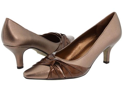 Bella-Vita - Geyser II (Bronze Metallic/Satin) High Heels