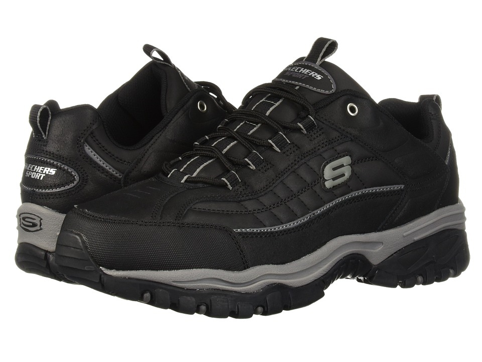 SKECHERS Energy Downforce (Black Scuff) Men