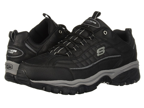 SKECHERS - Energy - Downforce (Black Scuff) Men's Cross Training Shoes