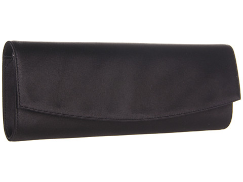 Stuart Weitzman - Raz (Black Satin) Clutch Handbags