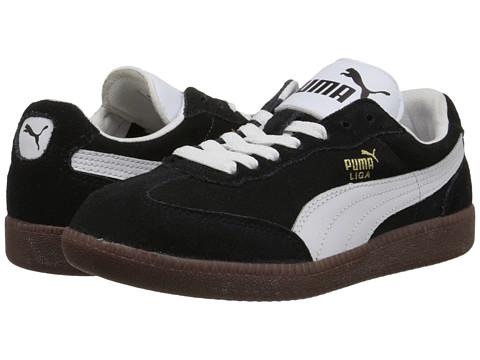 PUMA - Liga Suede Classic (Blk) Classic Shoes