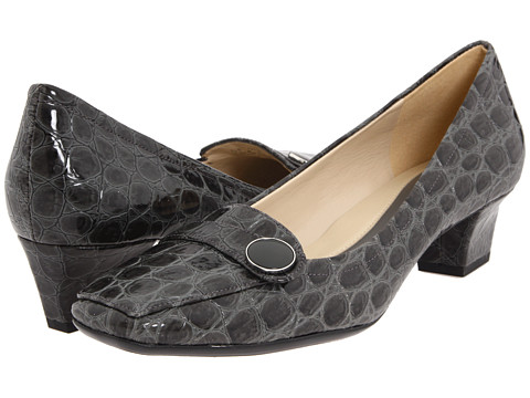 Naturalizer - Fulton (Grey Shiny Croco) Women