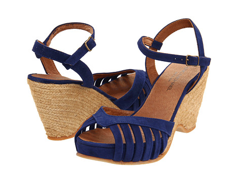 Eric Michael - Kamielle (Blue) Women's Wedge Shoes
