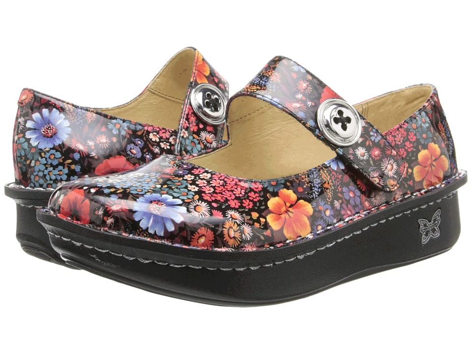 Alegria - Paloma (Midnight Garden Patent) Women's Maryjane Shoes