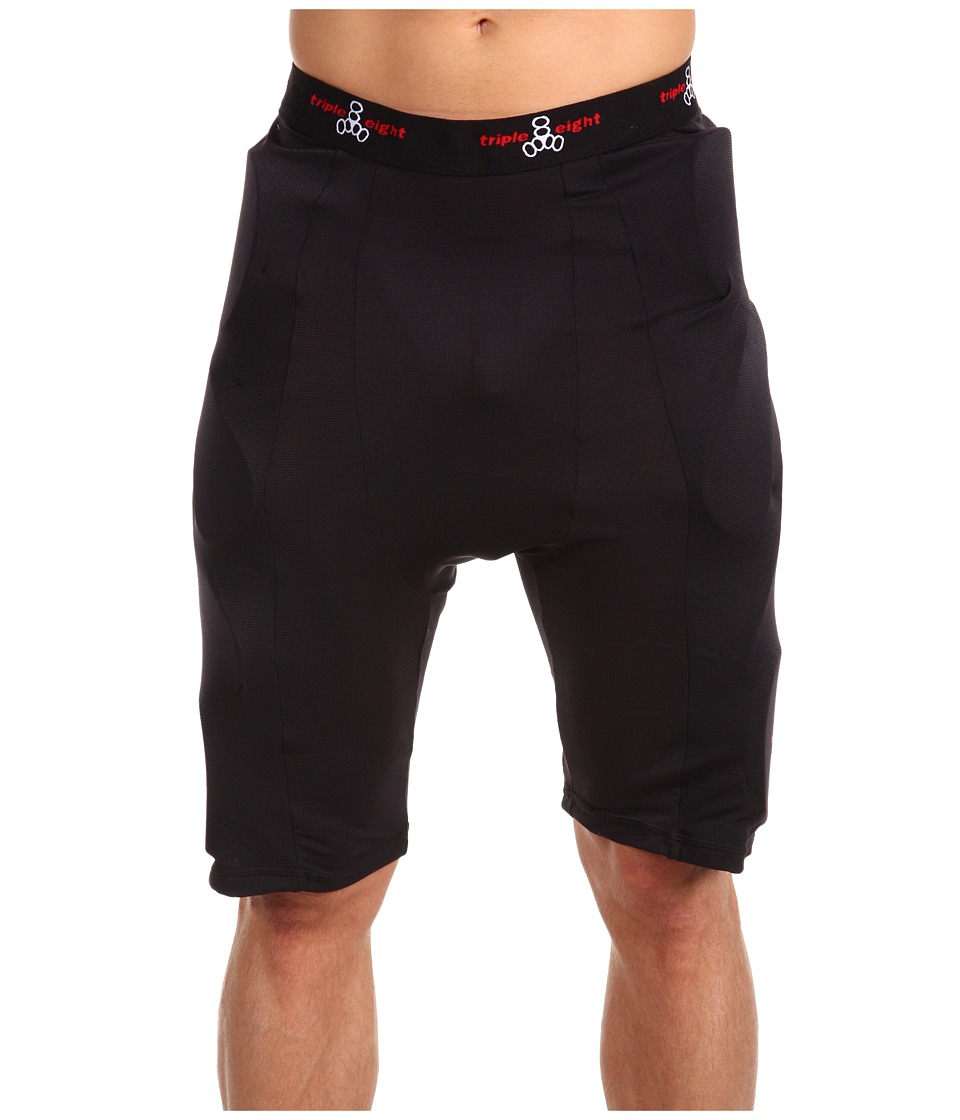 Triple Eight - Bumsavers II Padded Shorts (Black) Shorts