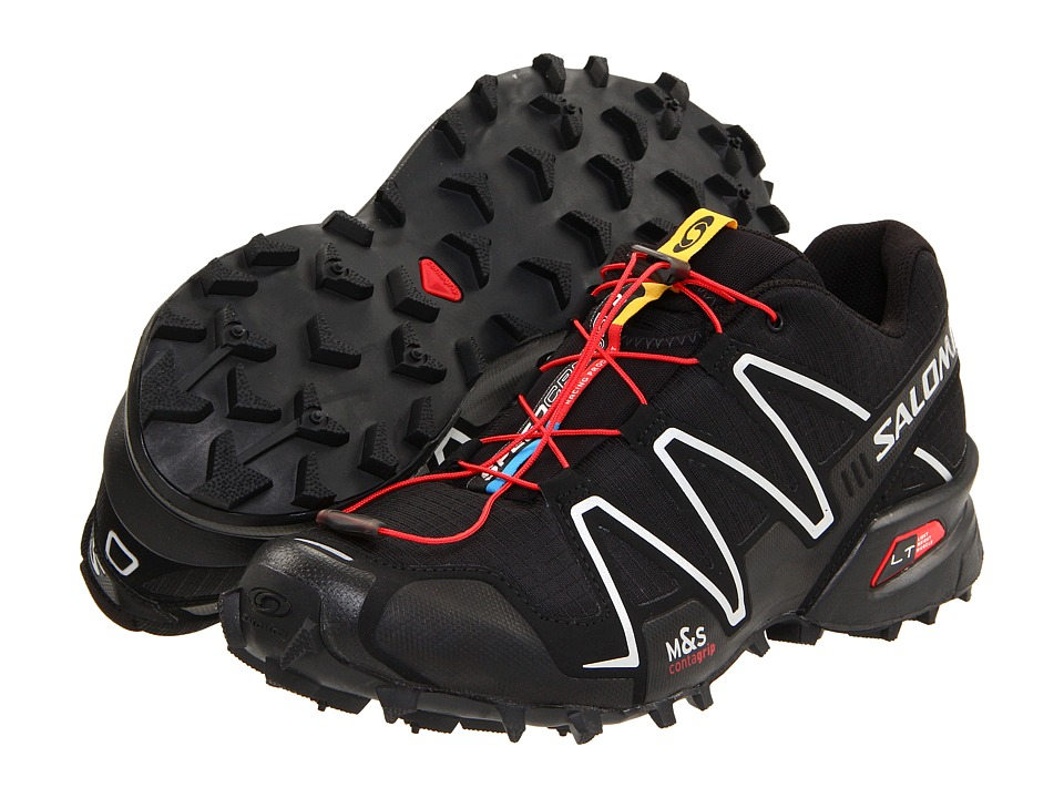 Salomon Speedcross 3 (Black/Black/Silver Metallic-X) Men