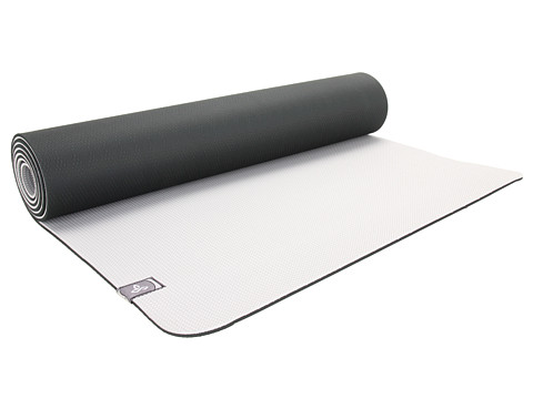 Prana - E.C.O. Yoga Mat (Black Vapor) Athletic Sports Equipment