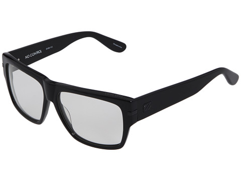 Sabre Vision - No Control (Optical) (Black Acetate/Clear Lens) Fashion Sunglasses
