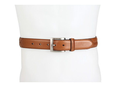 Cole Haan - Murdock Belt (Brown/Nickel) Men's Belts
