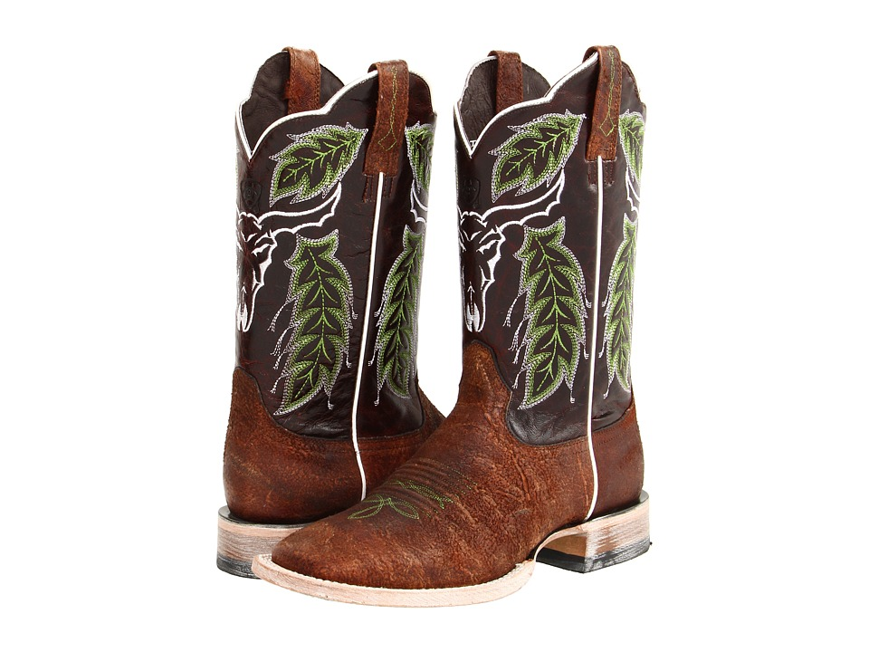 Ariat - Outlaw (Chico Brown/Dark Brown) Cowboy Boots
