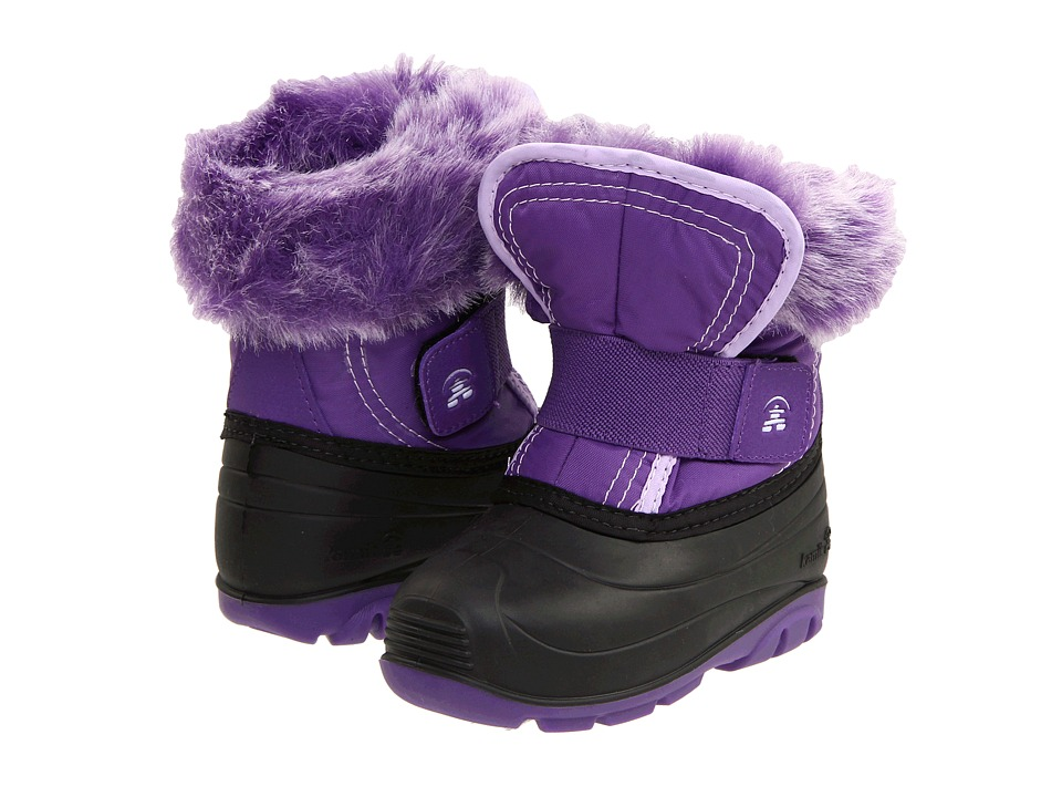 Kamik Kids - Sugarplum (Toddler) (Deep Purple) Girls Shoes
