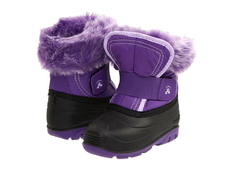 Kamik Kids - Sugarplum (Toddler) (Deep Purple) Girls Shoes