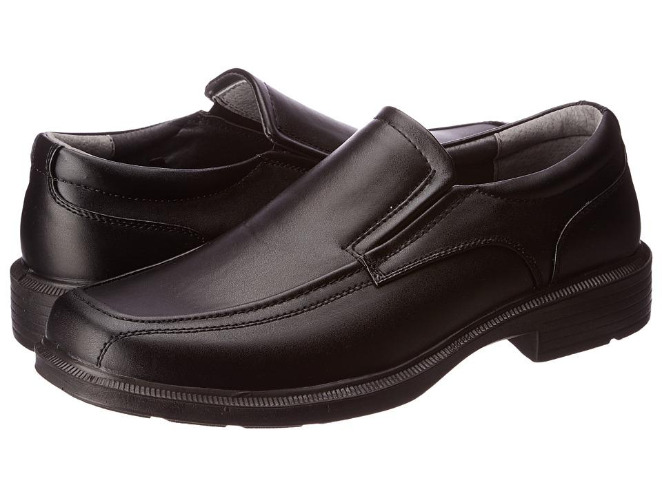Soft Stags Mason Mens Slip on Dress Shoes (Black)