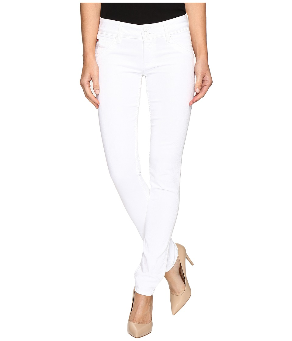 Hudson - Collin Flap Skinny in White (White) Women's Jeans