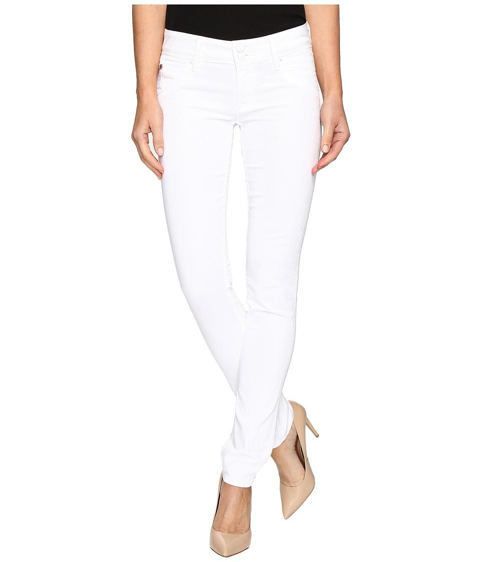 Hudson - Collin Flap Skinny in White (White) Women's Jeans