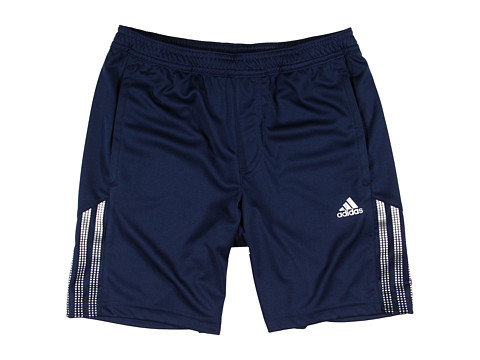 adidas Kids - RESPONSE Bermuda (Little Kids/Big Kids) (Collegiate Navy/Matte Silver) Boy