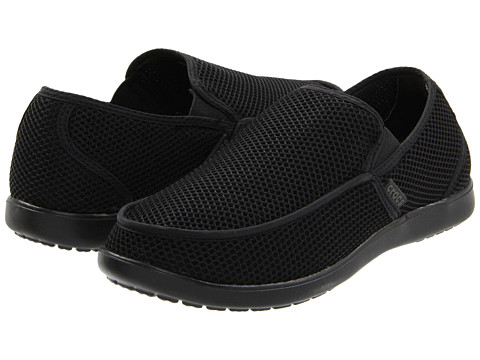Crocs - Santa Cruz RX (Black/Black) Men's Shoes