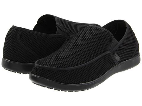 Crocs - Santa Cruz RX (Black/Black) Men's Shoes