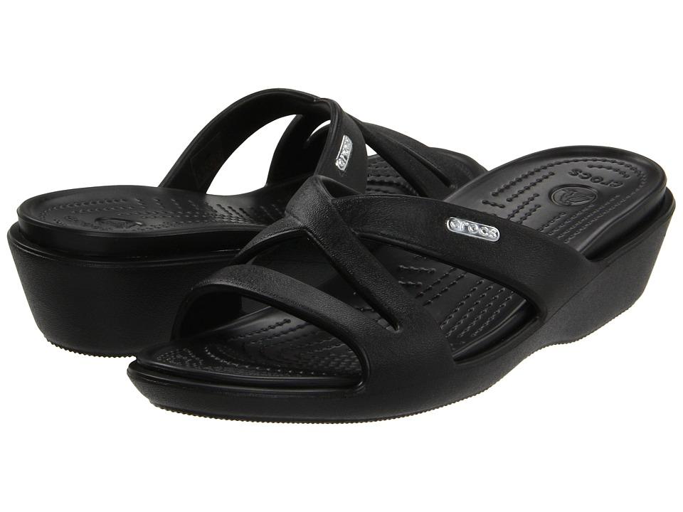 Crocs - Patricia II (Black/Black) Women's Sandals