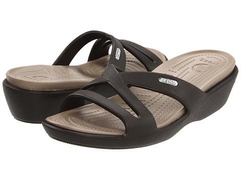Crocs - Patricia II (Espresso/Mushroom) Women's Sandals