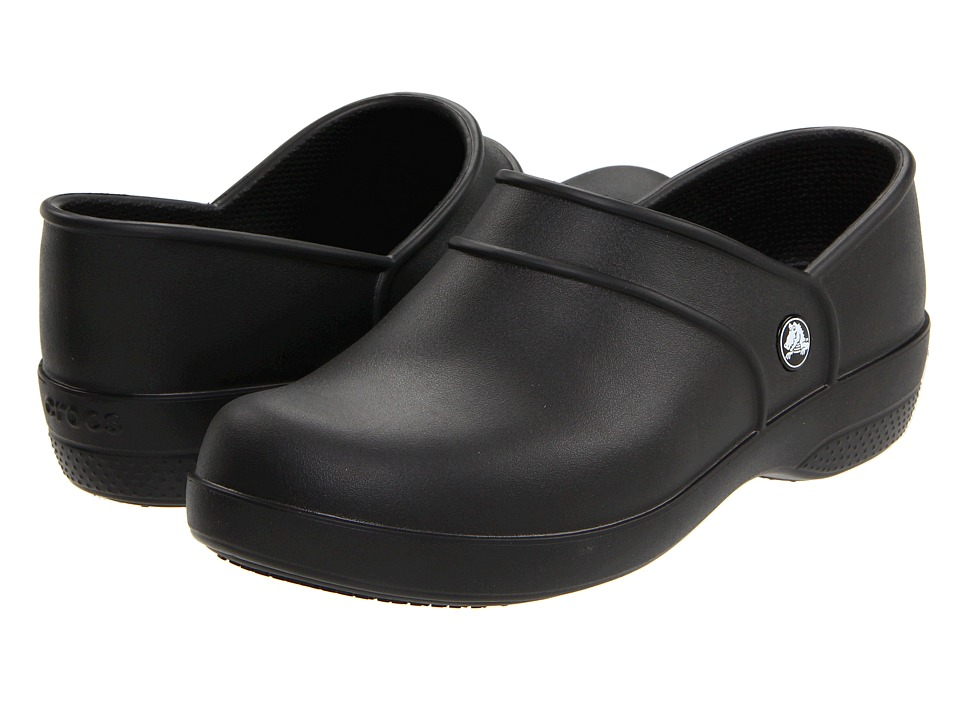 Crocs - Neria Work (Black) Women's Clog Shoes