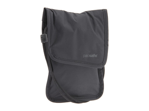 Pacsafe - Coversafe 75 Neck Pouch (Black) Wallet