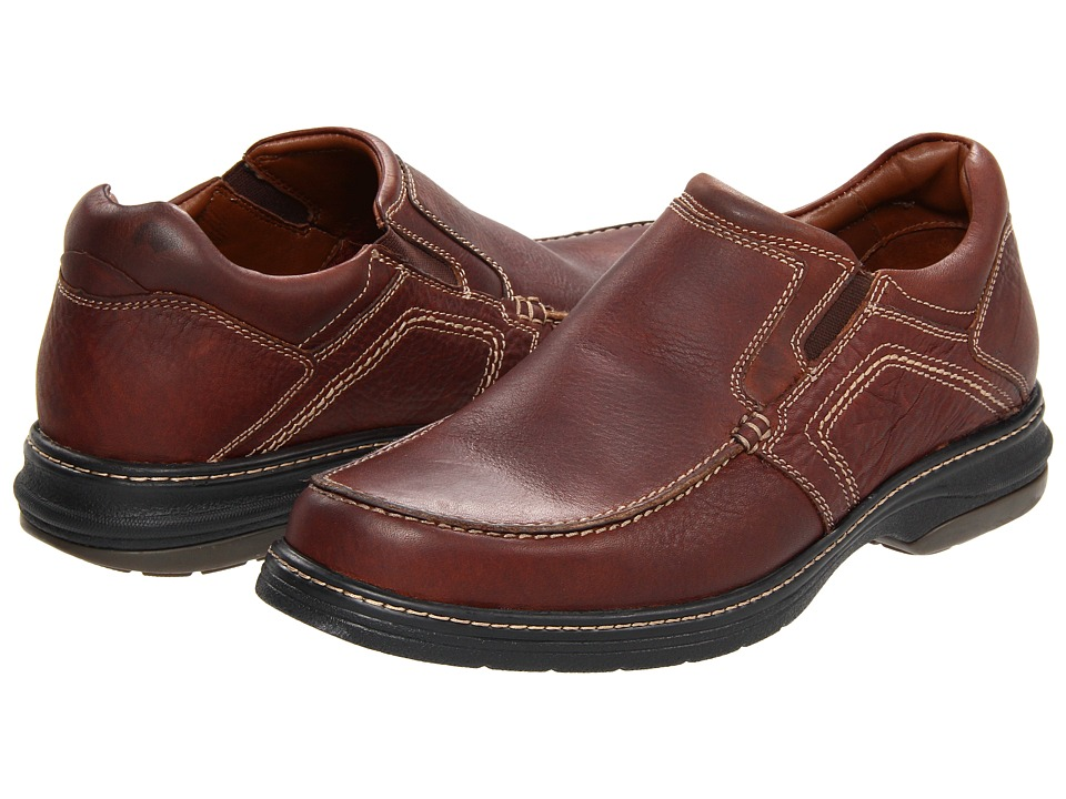Johnston & Murphy XC4 Waterproof Colvard Venetian (Mahogany Waterproof Full-Grain Leather) Men