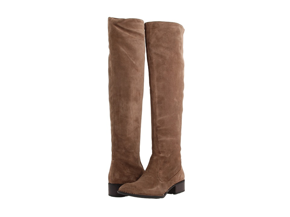 Born - Cady - Crown Collection (Taupe Suede) Women's Pull-on Boots