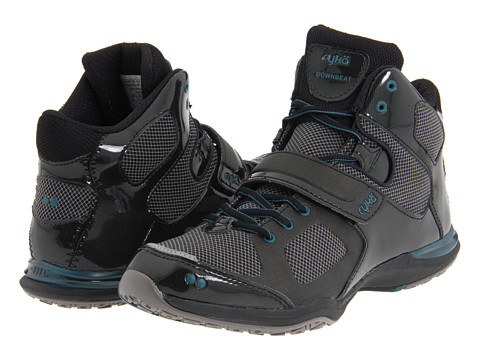 Ryka - Downbeat (Black/Metallic Steel Grey/Teal Night) Women