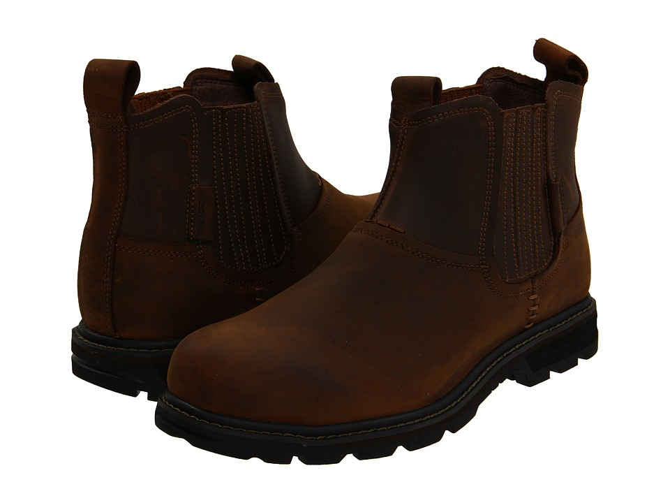 SKECHERS - Blaine - Orsen (Dark Brown) Men's Work Boots