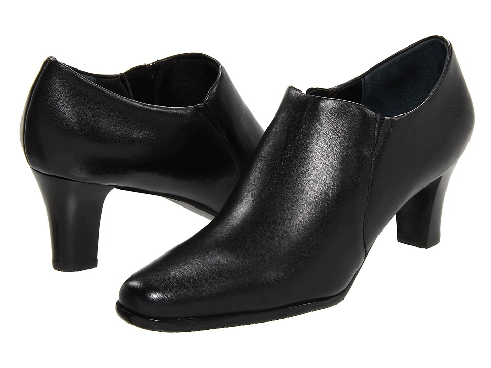 Trotters - Jolie (Black Soft Kid Leather) Women's Slip-on Dress Shoes
