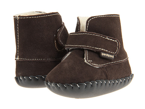 pediped - Henry Original Boot (Infant) (Chocolate Brown) Kid