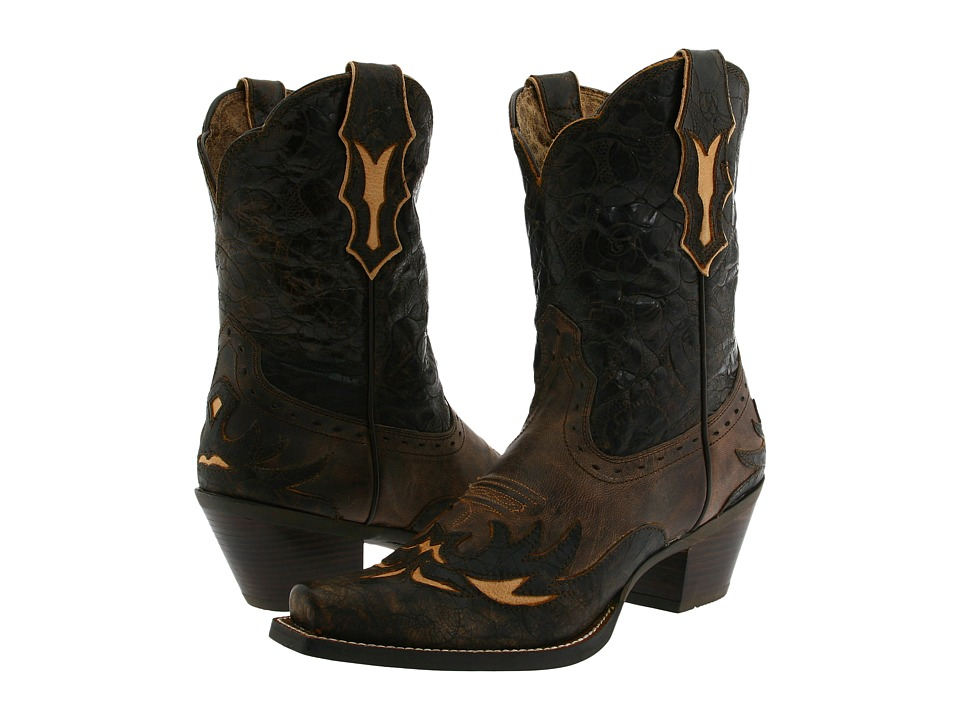Ariat - Dahlia (Silly Brown/Chocolate Floral) Cowboy Boots