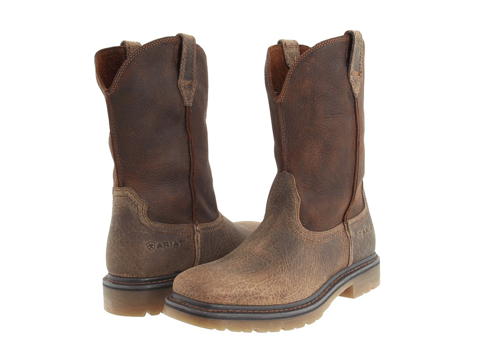 Ariat - Rambler Work Pull-On (Earth/Brown) Men