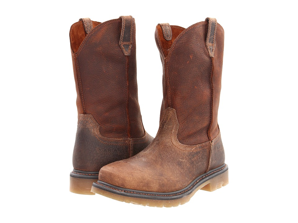 Ariat Rambler Work Pull-On Steel Toe (Earth/Brown) Men