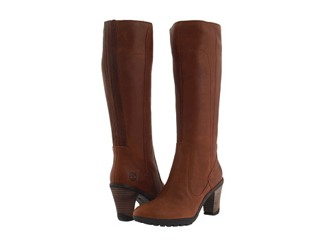 Timberland - Stratham Heights Tall Boot (Brown) Women