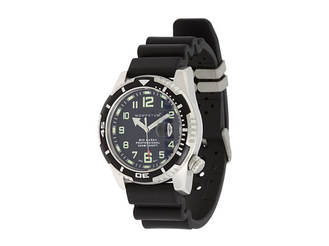 Momentum by St. Moritz - M50 Mark II Large (Black/Black Rubber Band) Watches