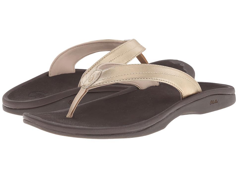 OluKai - Ohana W (Mica/Dark Java) Women's Sandals