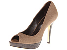Cole Haan - Air Stephanie Open Toe Pump (Greige Haircalf) - Cole Haan Shoes
